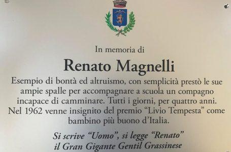 Bagno a Ripoli commemora Renato Magnelli: sabato 26 ottobre l'inaugurazione della targa che ne ricorda valori e storia