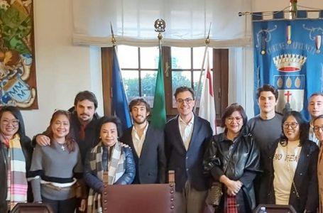 Impruneta, Zoppini e Franchi accolgono la delegazione di Manado (Indonesia)