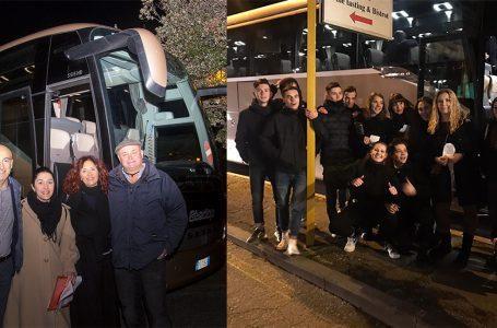 """Via al """"Bus del Sabato Sera"""": che successo per il primo viaggio con la navetta del Chianti!"""