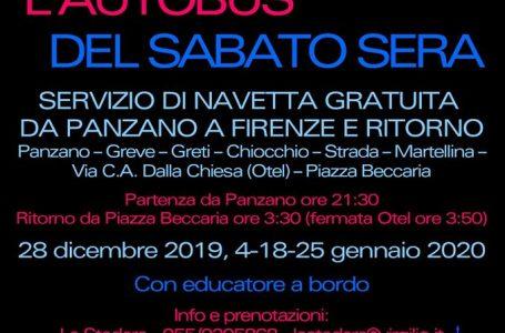 Greve in Chianti: arriva la navetta del sabato sera