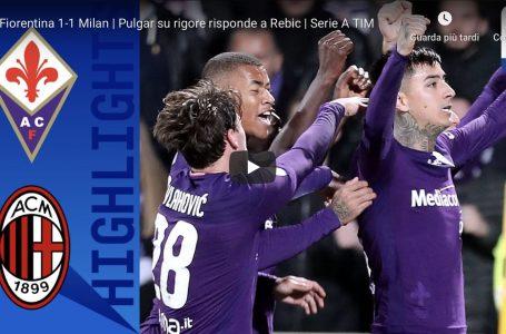 VIDEO / Fiorentina vs Milan: gli highlights del match
