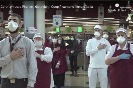 """Flash Mob / """"Insieme ce la possiamo fare"""": Unicoop Firenze intona l'Inno di Italia"""