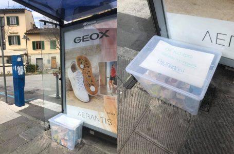 """""""Chi può metta, chi non può prenda"""": la spesa sospesa arriva anche a Bagno a Ripoli"""