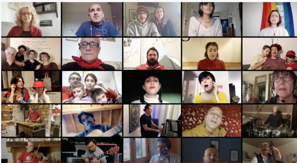 Video / #bellaciaoinognicasa: il 25 Aprile dell'associazione Tiravento
