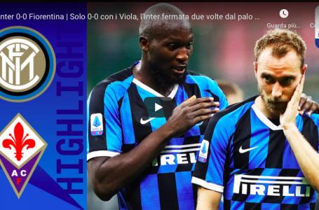 VIDEO / Inter vs Fiorentina