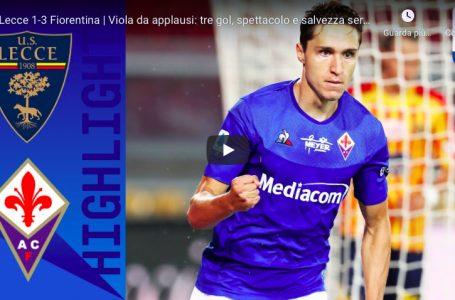 VIDEO / Highlights Lecce vs Fiorentina (1 – 3)