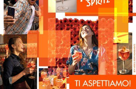 Impruneta, che evento al Bar Italia! Arriva l'APEROL SPRITZ TOUR…e la piazza si colora di arancio