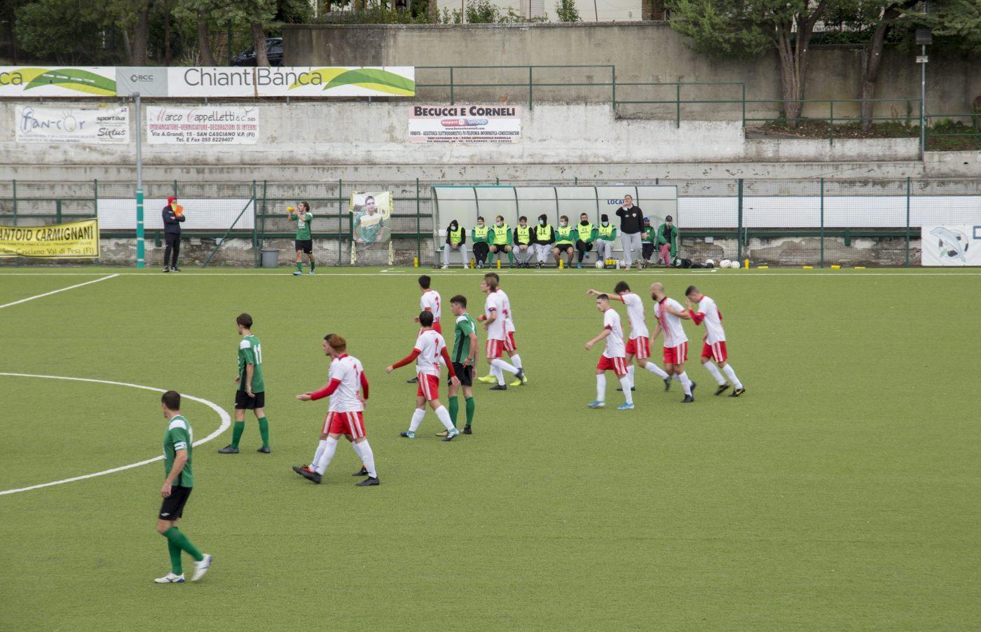 VIDEO / Coppa Toscana, Chianti Nord vs Belmonte: quattro gol, tre rigori, due espulsioni