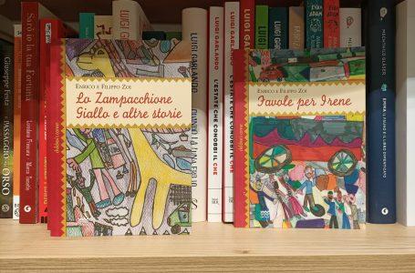 """""""Lo Zampacchione giallo e altre storie"""", le nuove favole illustrate di Enrico e Filippo Zoi"""