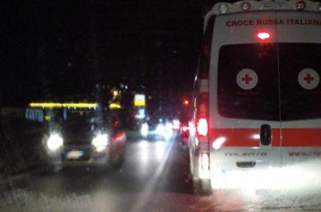 Greve, frontale sul rettilineo che anticipa il paese: traffico bloccato dalle 17:30