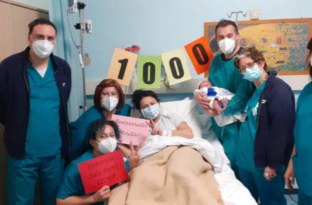 Nel giorno di Natale, il Punto Nascita dell'OSMA festeggia i 1000 parti nel 2020: è record di nascite!