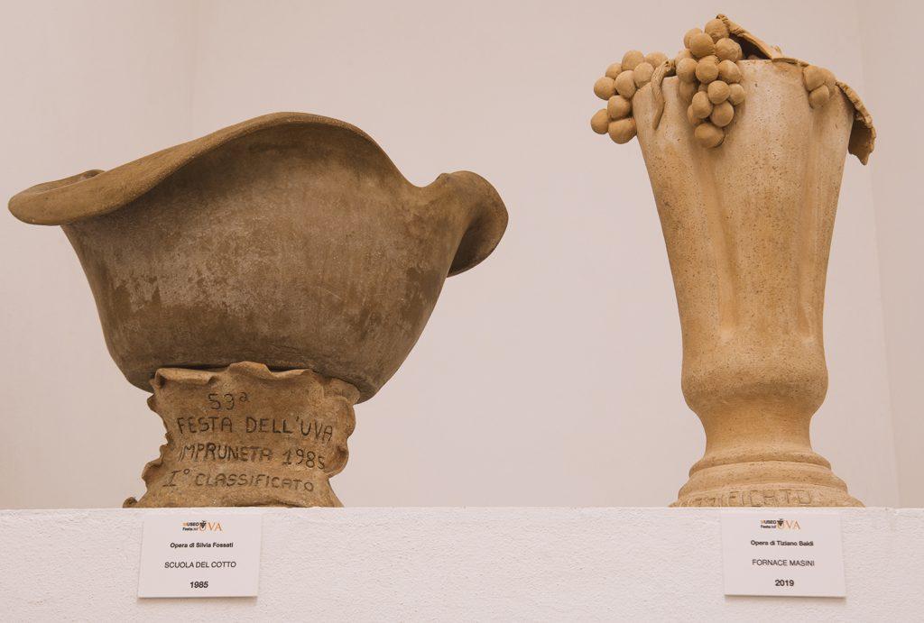 Il primo e l'ultimo trofeo in terracotta
