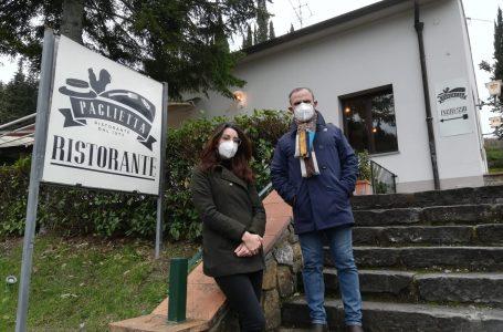 """Chianti, riapre il ristorante """"Paglietta"""" all'insegna della solidarietà: 50 pizze per le famiglie bisognose"""