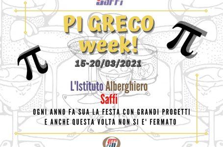 Al Saffi il PI GRECO WEEK: gli studenti preparano cocktail….matematici!