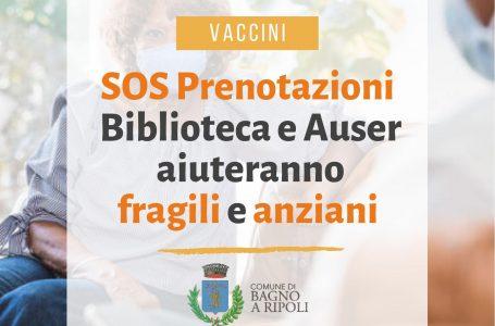 Bagno a Ripoli, Vaccini a fragili e anziani: da Comune e Auser un supporto per prenotare
