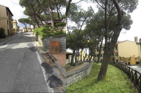 Impruneta, lavori per 200.000 €: nuove asfaltature e…nuova Barazzina (senza i pini)