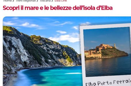 Toscana, la novità di Trenitalia: in vacanza col treno…al via il nuovo servizio Elba Link!