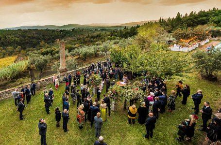 """Matrimoni a Impruneta, non solo """"in Comune"""": ci si potrà sposare anche al Castello di Cafaggio"""