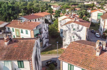 """Il fascino della Street Art al Galluzzo: Il """"Giudizio Universale"""" sulle facciate delle case popolari"""