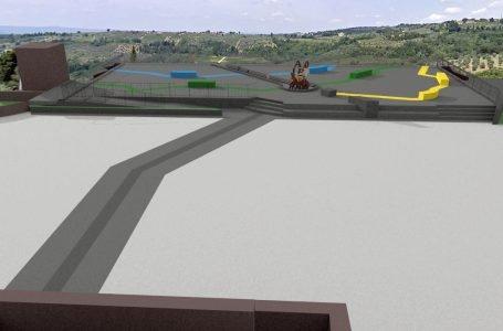 Un mosaico d'arte per riqualificare la terrazza panoramica di Barberino Val d'Elsa