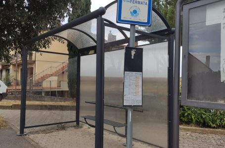 Greve in Chianti, nuove pensiline per le fermate dell'autobus