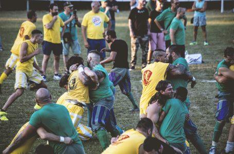 """I """"Verdi"""" portano il calcio storico all'Antella: una serata di """"incontro"""" nella casa bianco-celeste"""