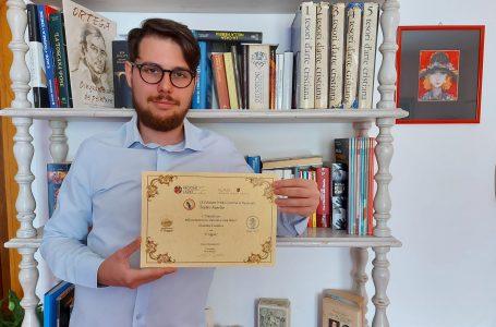 """Con il testo """"Il Ragno"""", Giacomo Cassetta è il vincitore del Premio Letterario Nazionale Teatro Aurelio di Roma"""