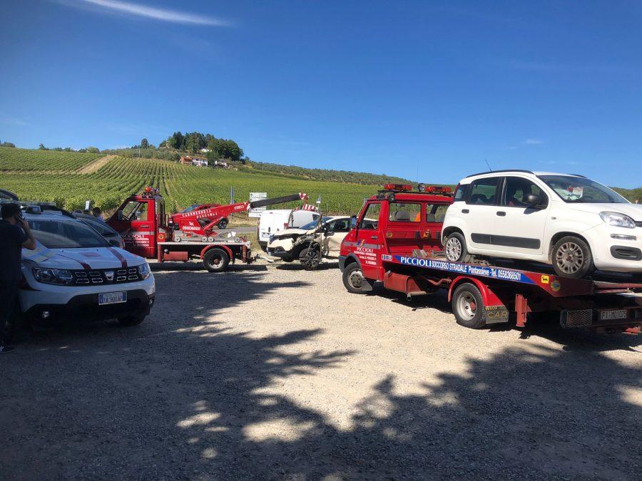 Pelago, pauroso scontro tra due auto sulla SR 70: la dinamica